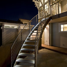 Beach Style Exterior by Noel Cross+Architects