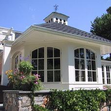 Traditional Exterior by David Dumas Architect