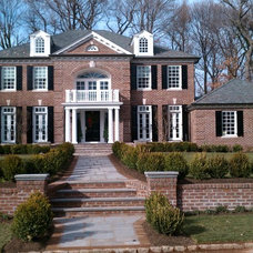 Traditional Exterior by Curtiss W. Byrne Architect, LLC