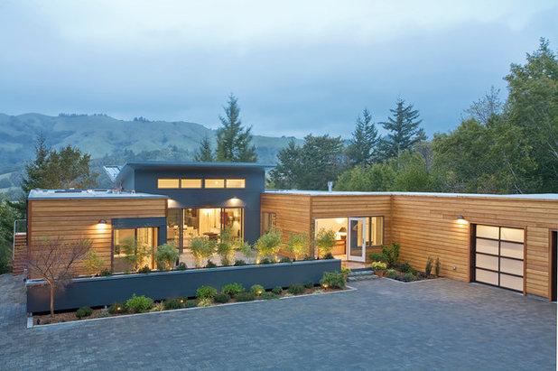 Moderno Fachada Breezehouse - Blu Homes
