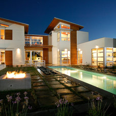 Contemporary Exterior by Sage Architecture, Inc.