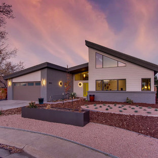 This is an example of a midcentury exterior in Denver.