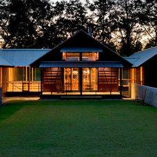 Farmhouse Exterior by Robert M. Cain, Architect