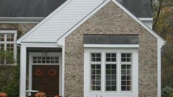 Brick and Cedar Estate Home
