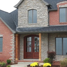Traditional Exterior by BJ Armstrong Custom Homes