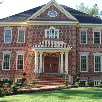 Brick Colonial with Basement Garage