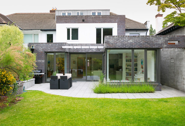 100 of the best irish homes on houzz for Modern house exterior uk