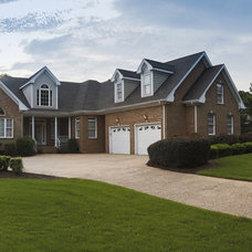 Traditional Exterior by J.M. Froehler Construction