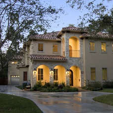Mediterranean Exterior by Allan Edwards Builder Inc