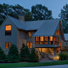 Contemporary Exterior by Peninsula Architects