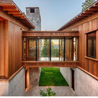 Cliff Hanger Contemporary Exterior Seattle By