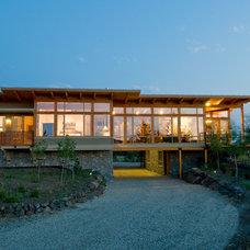 Modern Exterior by Mitchell Brock
