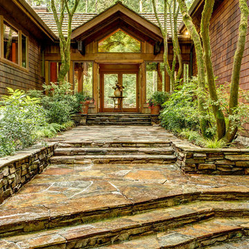 Bridle Trails Home With A Zen Feel