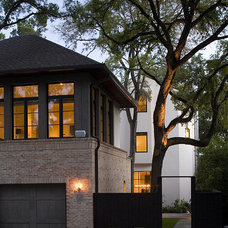 Transitional Exterior by Hugh Jefferson Randolph Architects