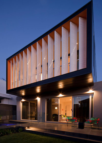 Modern Exterior by Chan Architecture Pty Ltd