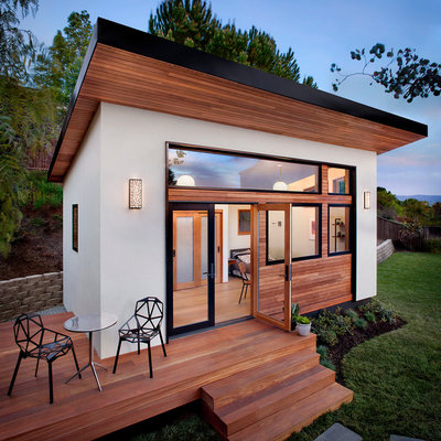 Contemporary Exterior by AVAVA Systems