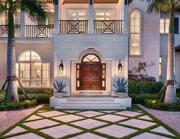 British West Indies Custom Home in Naples