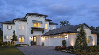 British West Indies Inspired Custom Home in Winter Park Florida
