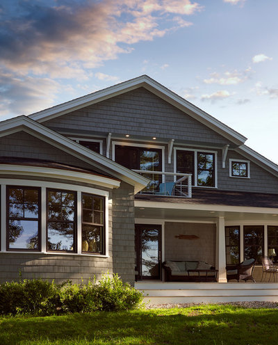 Transitional Exterior by Knickerbocker Group