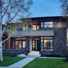contemporary exterior by Windsor Brunello Ltd