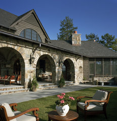 traditional porch by Summerour Architects