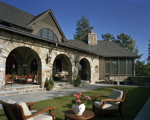 Arched Porch Houzz