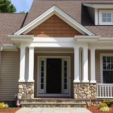 Traditional Exterior by BROM Builders