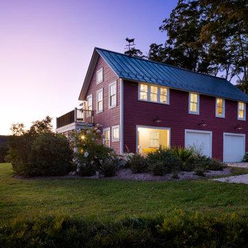 Brook House Barn- Exterior Dusk