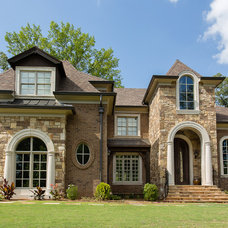 Traditional Exterior by Vincent Longo Custom Builders