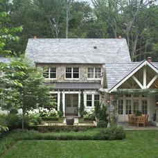 Traditional Exterior by Tillman Long Interiors