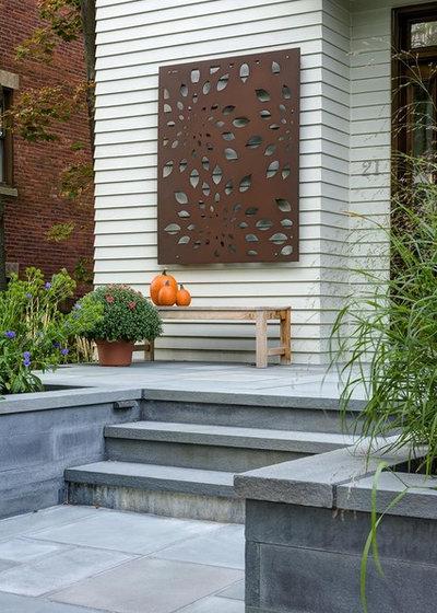 Traditional Exterior by Nilsen Landscape Design, LLC