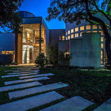 Contemporary Exterior by Key Residential