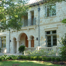 Mediterranean Exterior by L. Lumpkins Architect, Inc.