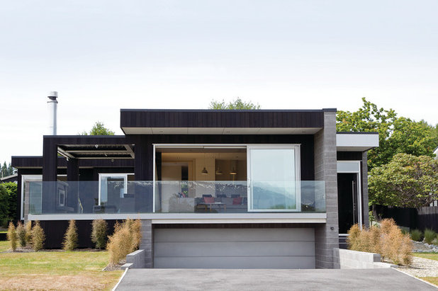 Contemporary Exterior by Diana Blake Design- Architectural Studio