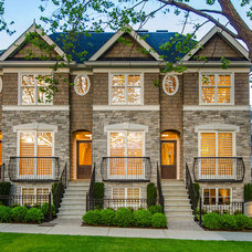 Transitional Exterior by Jenny Martin Design