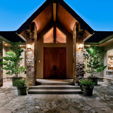 Traditional Exterior by T. Wheeler Homes