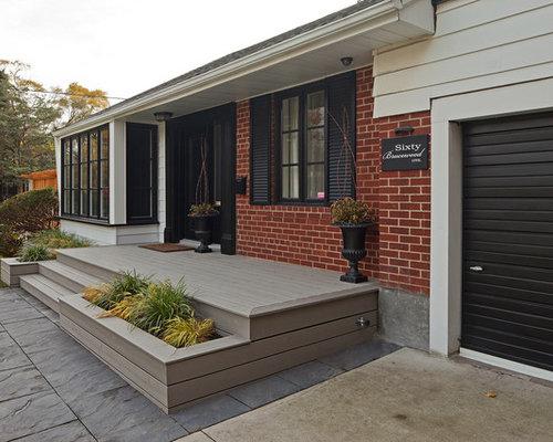Front Porch Deck | Houzz