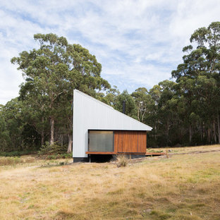 Design ideas for a modern exterior in Hobart.