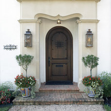Mediterranean Exterior by V Fine Homes