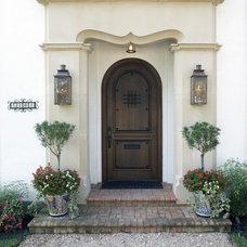 Mediterranean Exterior by V Fine Homes