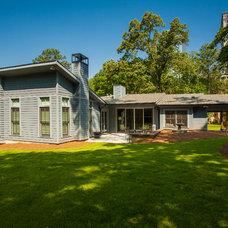 Contemporary Exterior by Renewal Design-Build