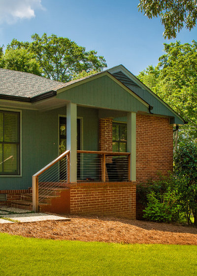 Houzz Tour Respectful Updates For A Midcentury Atlanta Ranch