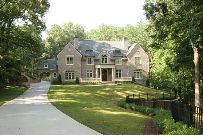 Traditional Exterior by Norwood Architects