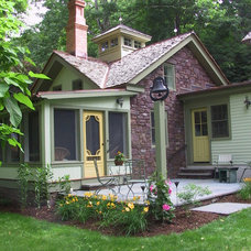 Farmhouse Exterior by Eclectic Architecture, LLC