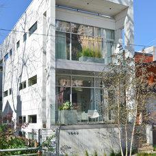 Modern Exterior by Linc Thelen Design