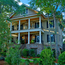 Traditional Exterior by Lehigh Land & Building Company, LLC