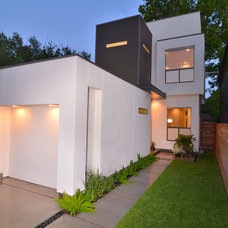 Contemporary Exterior Built By OnPoint Custom Homes