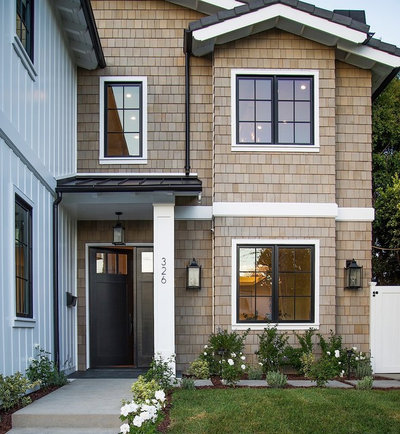 Transitional Exterior by Boswell Construction