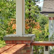 Traditional Exterior by Blue Sound Construction, Inc.