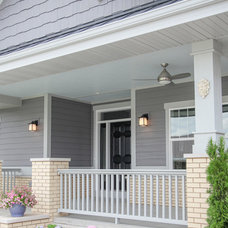 Transitional Exterior by Madison Lighting